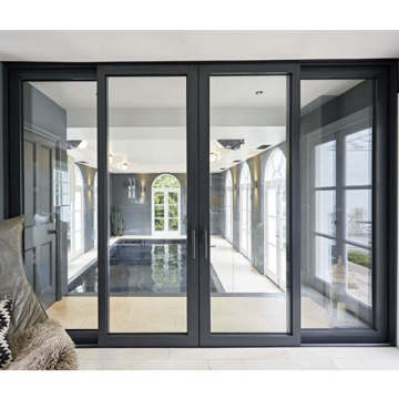 Lingyin Construction Materials Ltd China supplier high quality sliding door large glass door