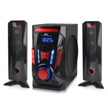 China New Product for China Manufacturer of 2.1 Stereo Speaker,2.1 Speaker,2.1 Multimedia Speaker System,2.1 Bluetooth Speaker Cube bluetooth platic speaker bass boxes export to Armenia Factories