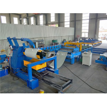 Decoiler & Flatting And Cutting Machine With Stacker