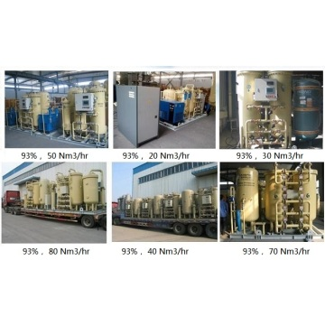 Low Price Industrial Gaseous Oxygen Gas Plant