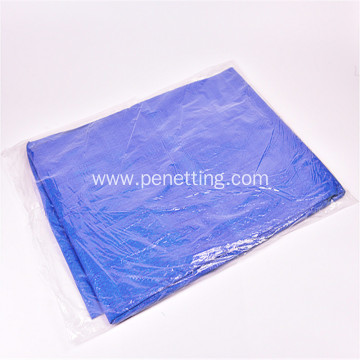 160gsm 2*50m Orange Blue Green Color PE Tarps