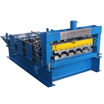 Automatic arch roof sheet building forming machine