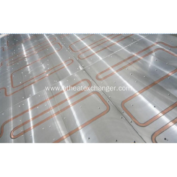 Water Cooled Plate Inlaying Copper Tube
