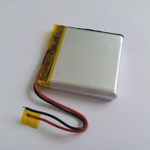 805050 rechargeable li-ion battery 3.7v 2500mah