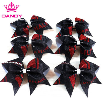 Beautiful  Red Hair Bows