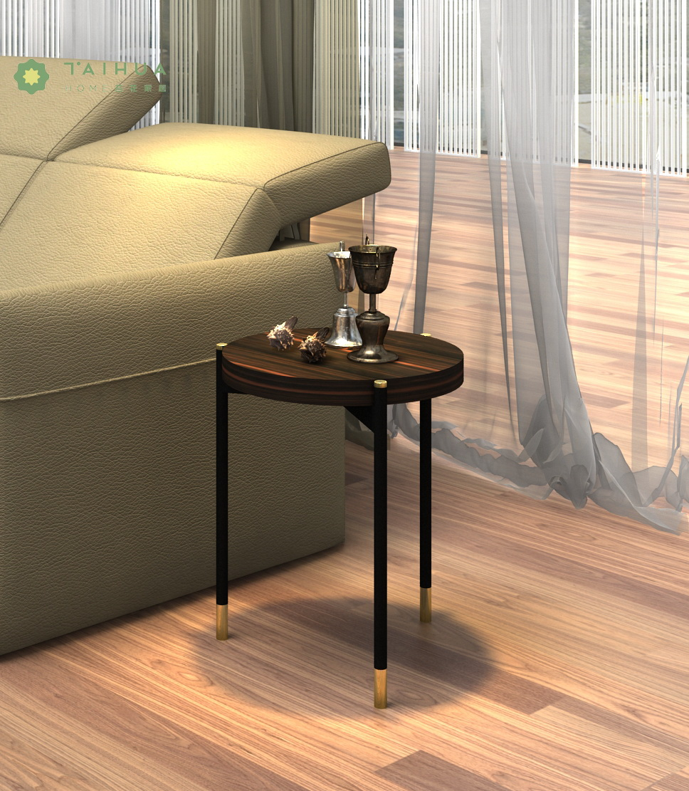 Metal Frame Side Coffee Table
