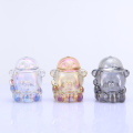 Cute Small Bear Head Glass Home Decoration