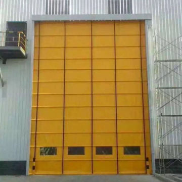 Stacked High Speed Rolling Door