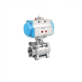 China customized with high quality cast iron body of ball valve for oil