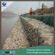 pvc coated gabion box gabion retaining wall