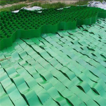 Black or Green HDPE Geocell