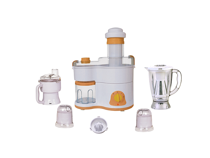 Plastic jar food processor 7 in 1