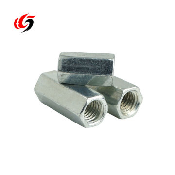 Building material threaded big chamfer big chamfer thread rod sleeve rebar coupler