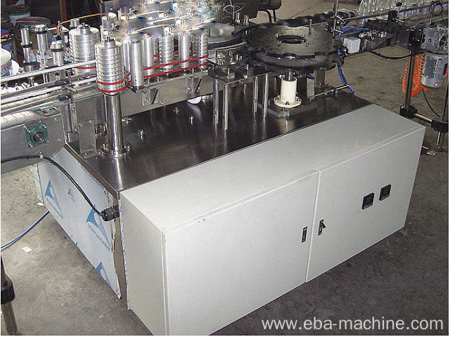 Hot Melt Glue Labeling Machine for Plastic Bottle