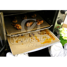 Europe style for Oven Bottom Liner LFGB&FDA certificated Ptfe cooking mat/oven liner supply to Palestine Importers