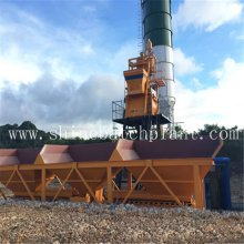 Best Price for for Mobile Concrete Batching Plant 75 Construction Concrete Batching Machinery supply to St. Helena Factory