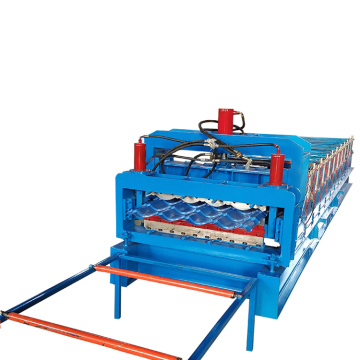 Double Roof Tile Cold Roll Forming Machine
