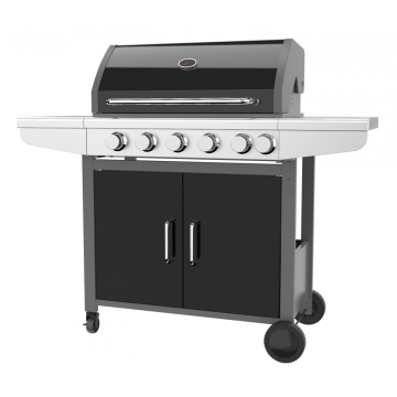 Five Independent Burner Gas Barbecue Grill