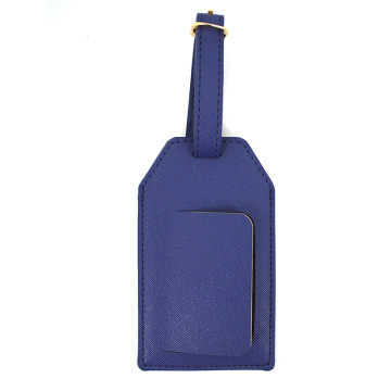 Personalized Saffiano Pu Leather Luggage Tag