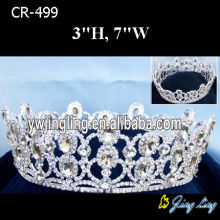 Full Round King Crowns Pageant Tiaras