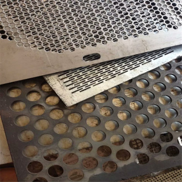 6mm aluminium perforated facade panel