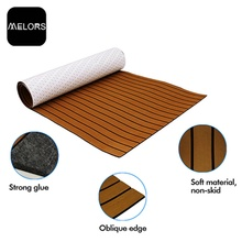 Melors Faux Teak Boat Deck Foam Floor Mat
