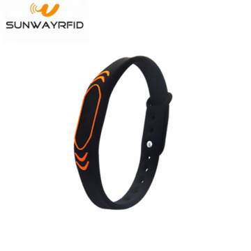 Sport Colorful Silicone Rfid Wristbands Nfc Bracelet