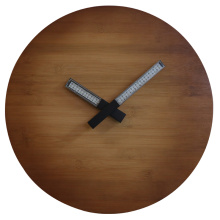 Online Manufacturer for Wood Wall Clock Natural Wood Wall Clock Light up for Decoration supply to Argentina Supplier