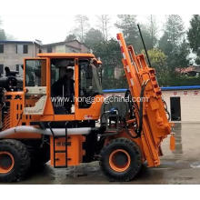 Professional for Pile Driver With Screw Air-Compressor Hydraulic Cylinder Gear Pump Guardrail Pile Driver supply to Philippines Exporter