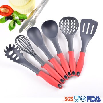 Best Quality for Nylon Kitchen Utensils Set 6 Piece wholesale nylon kitchen set cooking tools supply to India Suppliers