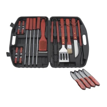 bbq set in plastic Case