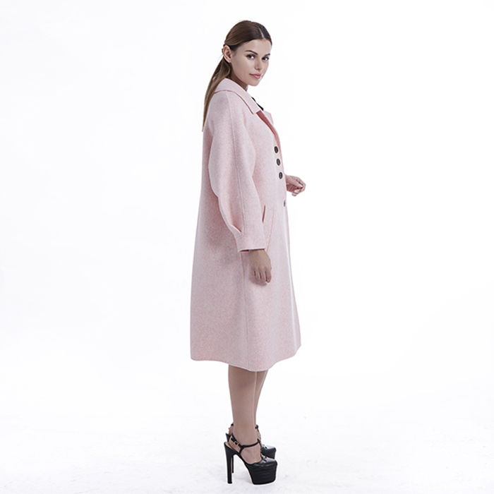 New styles pink winter outwear