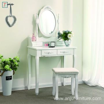 Modern Bedroom Dresser cosmetic dresser table chair with mirror
