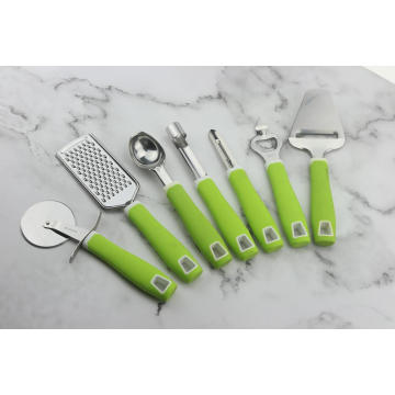 PP Handle Metal Utensil Set