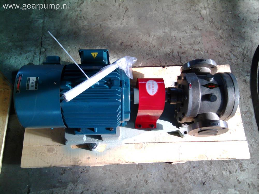 Hot cooking oil transfer pump