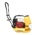 Hand held diesel plate compactor machine