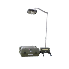 Best Quality for Best Mobile Wall Shadowless Lamp,Portable Surgical Light,Surgical Lights,Medical Lamp for Sale Portable field operation theatre light export to Czech Republic Importers