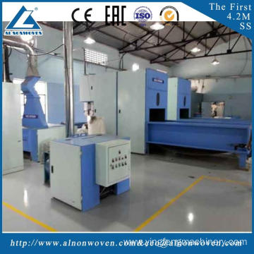 High quality ALKS-1500 fiber opener machine mahcine witdth 1.5m embedding materials for automobiles