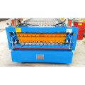 Double Layer Trapezoide Shape Roof Tile Machine