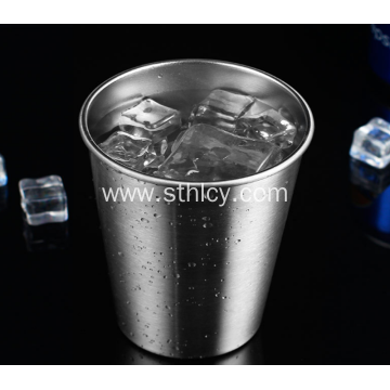 304 Single Layer Stainless Steel Cup Portable Multifunction
