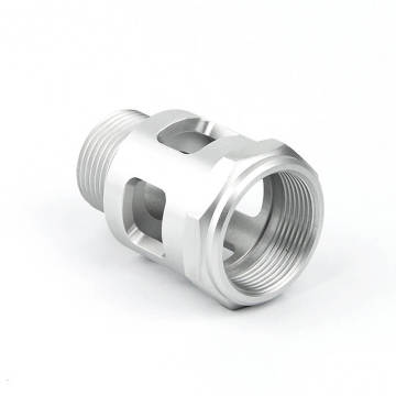 Processing 3d CNC Turning Lathe stainless steel parts