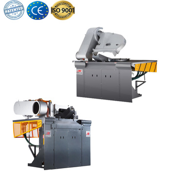 Medium frequency cast iron melt induction furnace