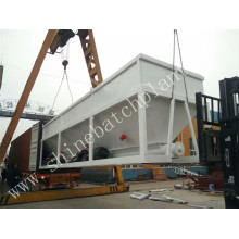Professional Design for Portable Concrete Batch Plant 25 Mobile Ready Mixed Concrete Batching Plant export to Iceland Factory