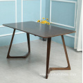 wooden Dining table set modern