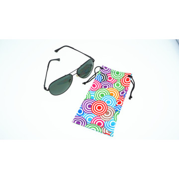 promotional digital printing microfiber pouch for eyeglasses