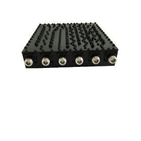6-Band Combiner Cavity Multiplexer
