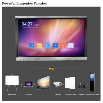 86 inches Smart LCD Screen for Classroom
