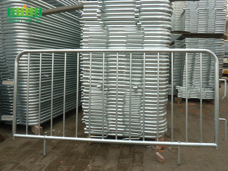 Galvanized Steel Crowd Control Barrier Fence
