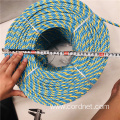 Blue Blue Yellow PP SplitFilm Hauling Telstra Rope