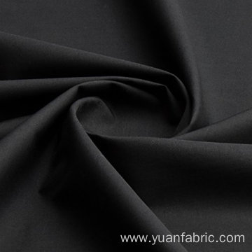 Plain 100% Cotton Woven Fabric Black